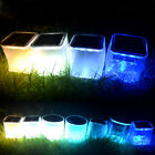 LED Portable Solar Power Inflatable Lantern Camping Hiking Outdoor Tent Light