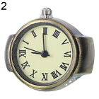 Women Vintage Punk Round Alloy Quartz Finger Ring Watch Watches Eager Lot Noted