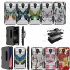 For ZTE Quest Case | ZTE Ultra | ZTE N817 Shockproof Holster Case -Cute Designs