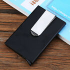 Blocking RFID Metal Wallet Money Clip Men Alloy Slim Money Credit Card ID Holder