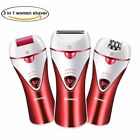 Epilator Cordless Electric Hair Removal Epilator 3 in 1 Rechargeable Razors US!!