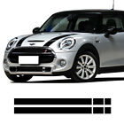 Bonnet Hood Rear Trunk Stripes Decal Sticker For Mini Cooper R56 F56 R60 F60 R50