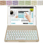 Backlit Keyboard Case Smart Cover For 6th Gen 2018&5th 2017 iPad 9.7 Pro 9.7 Air