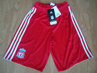 LIVERPOOL ADIDAS JUNIOR HOME SHORTS 13-14 YEARS BNWT RRP £15.99
