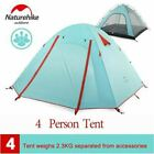 Naturehike Portable Outdoor Camping Tent 2/3/4 Person Hiking Travel Fishing