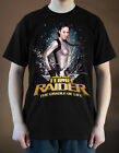 LARA CROFT TOMB RIDER  Poster ver. 2 T-Shirt (Black) S-5XL