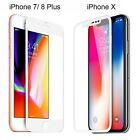3D Full Coverage Tempered Glass Screen Protector for Apple iPhone X/8/7/6 Plus günstig