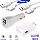 samsung note 3 usb 3.0 - OEM Samsung Wall & Car Charger 3.0 USB Cable For Samsung Galaxy S5 Note3