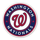 Washington Nationals Round Decal / Sticker Die cut
