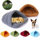 Clearance sale Pet Bed Pet Cave Half Covered Soft Cozy Sleeping Bag Mat for Dogs