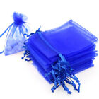 """100x Sheer Organza Wedding Party Favor Gift Candy Bags Jewelry Pouches 3x4"""" 5x7"""""""