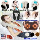 Electric Shiatsu Kneading Massager Heat Therapy For Back Neck Foot Shoulder OY