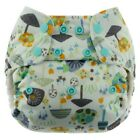 Blueberry Waterproof One Size Simplex All in One Diaper