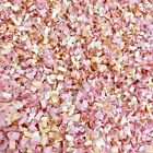 Peach Pink Melon BIODEGRADABLE Paper WEDDING CONFETTI Throwing Table Flutterfall