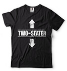 Two Seater Arrows Funny College Humor t shirt gift tee Sarcastic T shirt image