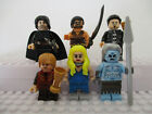 Game Of Thrones Mini Figures Jon Snow Tyrion Jamie Lannister fit lego Drogo