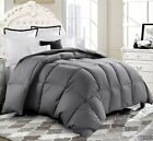 blue comforter king - Luxury Supersoft Goose Down Alternative Comforter Twin Queen King Size, 4 Colors