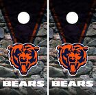 Chicago Bears Cornhole Skin Wrap NFL Football Vintage Decal Vinyl DR20 on eBay