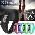 Bracelet Pedometer Watch Calorie Counter Digital LCD Pedometer Electronic Watch