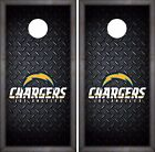 Los Angeles Chargers Cornhole Skin Wrap NFL Football Luxury Design Vinyl DR41 $59.99 USD on eBay