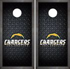 Los Angeles Chargers Cornhole Skin Wrap NFL Football Luxury Design Vinyl DR41 $39.99 USD on eBay