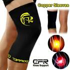 Copper Knee Support Brace Copper Leg Compression Sleeve Tommia Fit  Sports Wraps $7.35 USD on eBay
