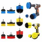 3Pcs/Set Tile Grout Power Scrubber Cleaning Drill Brush Bathtub Cleaner Combo US