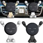 Smile Gps Gravity Stand Car Mount Air Vent Clip Phone Holder 360° Rotating