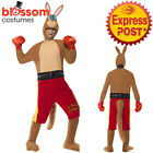 CA184 Kangaroo Boxer Comedy Sports Novelty Boxing Fancy Dress Funny Stag Costume