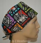 Star Wars Rebels Surgical Scrub Hat Chemo Cap**CLEARANCE $9.99 USD on eBay