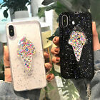 Lovely 3D Summer Ice Cream Soft TPU Phone Case For iPhone X 6 6S 7 8 Plus
