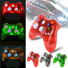 Glow Light Wireless Gamepad Remote Console Controller For Xbox 360 & PC Computer
