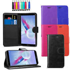 Leather Flip Wallet Case Card Cover For Huawei Honor 9 Lite + Screen + Stylus