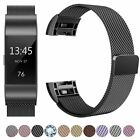 For Fitbit Charge 2 Replacement Metal Milanese Band Strap