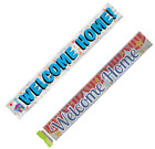 Welcome Home Decorations Foil Party Decoration Banner Party Supplies
