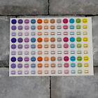 Icon Stickers - Planners - Diaries - Calendars - Scrapbooking - Glossy Finish