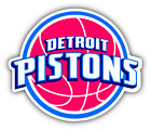 Detroit Pistons NBA Basketball  Car Bumper Sticker Decal -9'', 12'' or 14'' on eBay