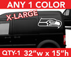 "SEATTLE SEAHAWKS ""HEAD"" ONLY WALL AUTO DECAL STICKER 32""w x 15""h ANY 1 COLOR $21.99 USD on eBay"