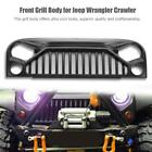 1/10 Nylon Angry Eyes Grill & Engine Cover Hood For RC Jeep Wrangler Body