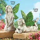 Angel Fairy/Cherub Resin Yard Garden Statue Figurine and Sculpture Outdoor Decor