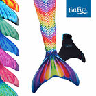 Kid Size Mermaid Tails for Swimming- Fin Fun- Monofin Included- Superior Quality