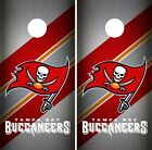 Tampa Bay Buccaneers Cornhole Skin Wrap NFL Football Team Colors Vinyl DR77 $39.99 USD on eBay
