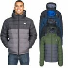 Trespass Oskar Mens Padded Jacket Warm Water Resistant with Hood