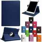For iPad Mini 4 5 Smart Cover Leather 360 Rotating Stand Case  Screen Protector