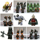 Lord Of The Rings Hobbit Mini Figures Orcs Aragorn,Frodo,Gandalf Use With lego