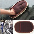 Cleaning Glove Car Wool Wash Brush Mitten Soft Car Wash Gloves Auto Care Tool #U