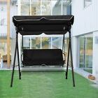 Durable Patio Garden Chairs 2 Seater Seat Swing Chair Swinging Hammock Bench