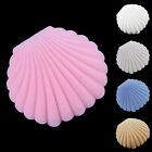 Uk_ Cute Sea Shell Earring Ring Necklace Display Storage Gift Jewelry Box Nimble