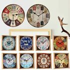 Exotic Chic Retro Time Kitchen Room Decoration Wall Clock