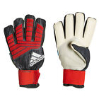 adidas Men's Predator Pro Fingersave Goalkeeper Gloves Black/Red/White CW5583
